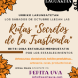 Rutas para disfrutar del comercio local en Laguardia